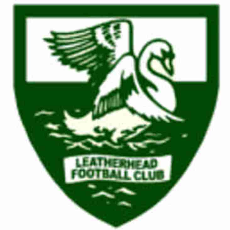 RESERVES AT HOME TO LEATHERHEAD
