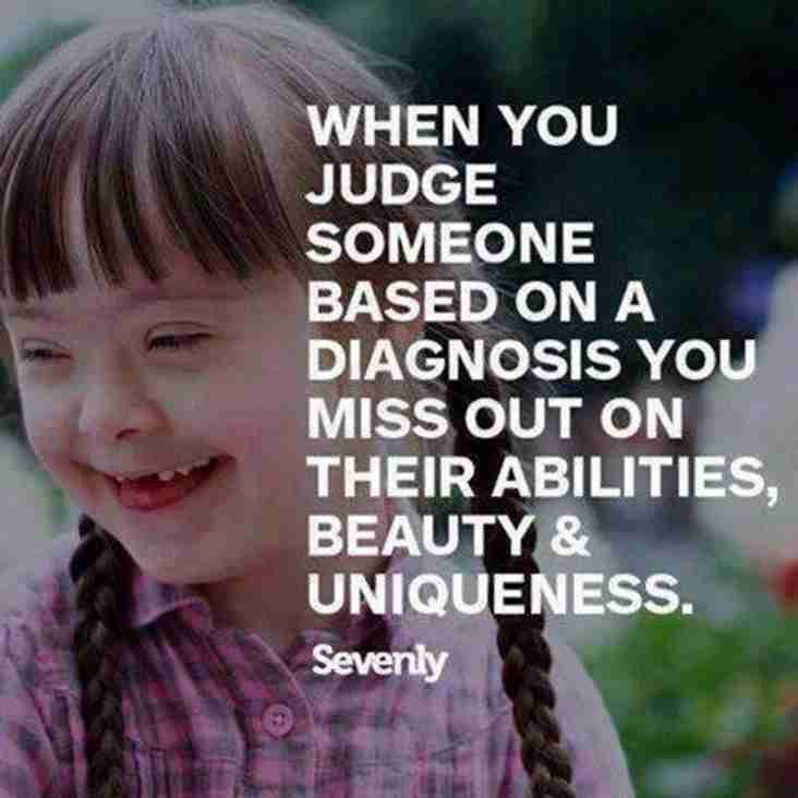 WORLD DOWNS SYNDROME DAY