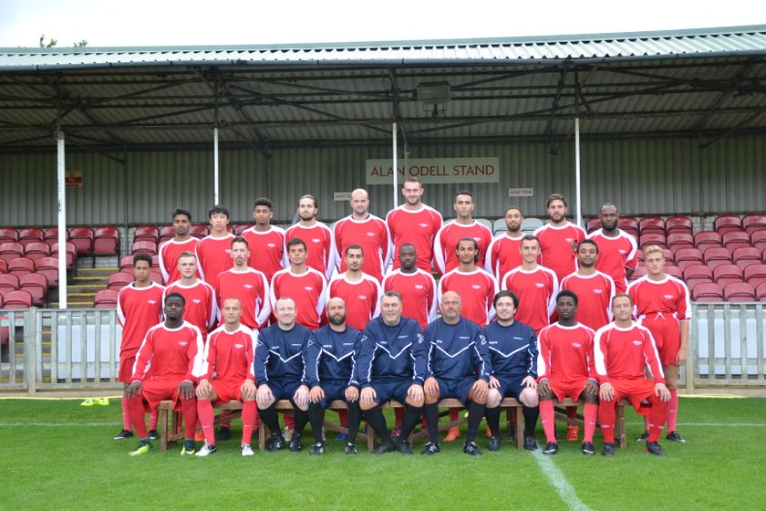 1st Team - Southern Football League beat North Greenford United Football Club 2 - 1