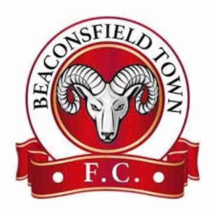 BEACONSFIELD TOWN VISIT HONEYCROFT THIS SATURDAY