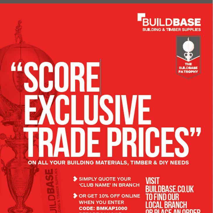 BUILDBASE OFFER FOR THE PRELIMINARY ROUND