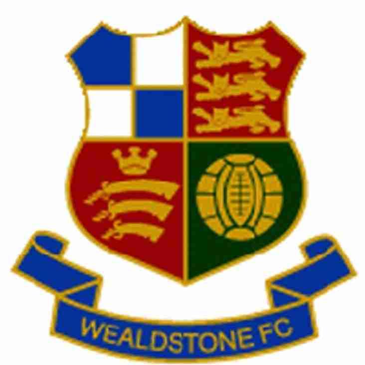 TUESDAY NIGHT - AWAY AT WEALDSTONE FC