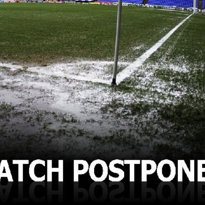 TODAYS MATCH AWAY AT THE DIAMONDS POSTPONED