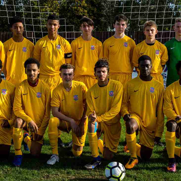 RONNIE HEATH SELECTED FOR THE MIDDLESEX FA U16 SQUAD