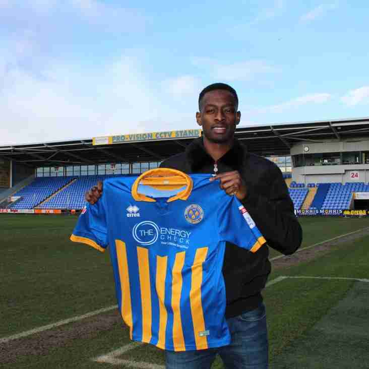 ABOBAKER EISA SIGNS FOR THE SHREWS