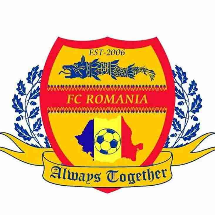 FLEET TOWN GO BACK TO THE EVO-STIK, FC ROMANIA TAKE THEIR PLACE
