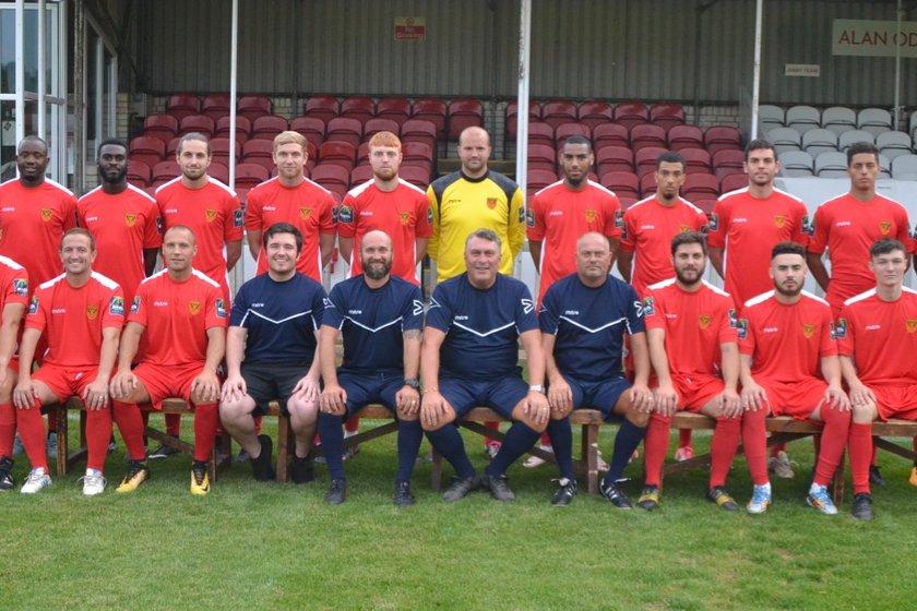 First Team lose to Wealdstone Football Club 5 - 3