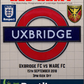 SATURDAY'S MATCH-DAY PROGRAMME - FREE DOWNLOAD