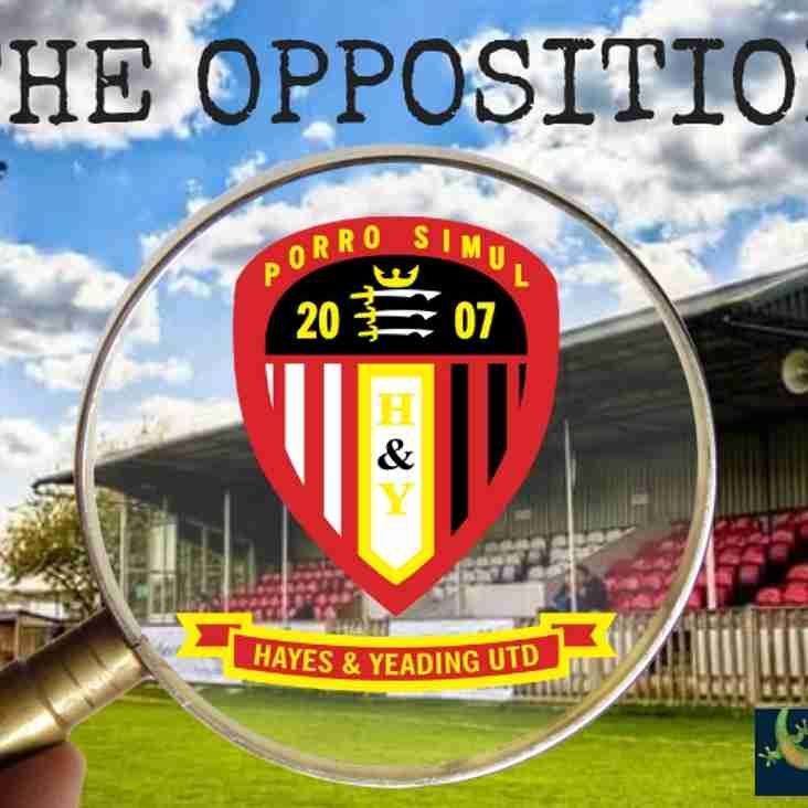 TUESDAY'S OPPOSITION - HAYES & YEADING UNITED