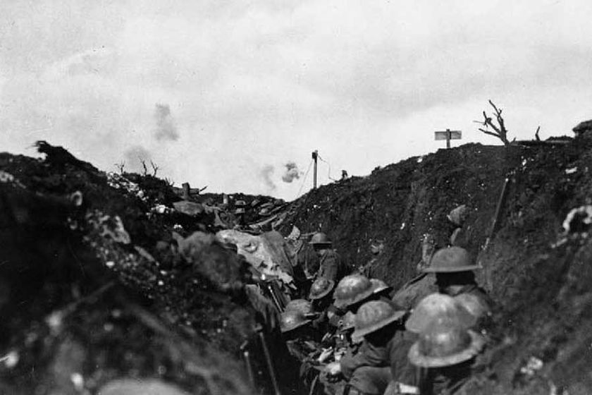 WW1 POEM - INTO BATTLE