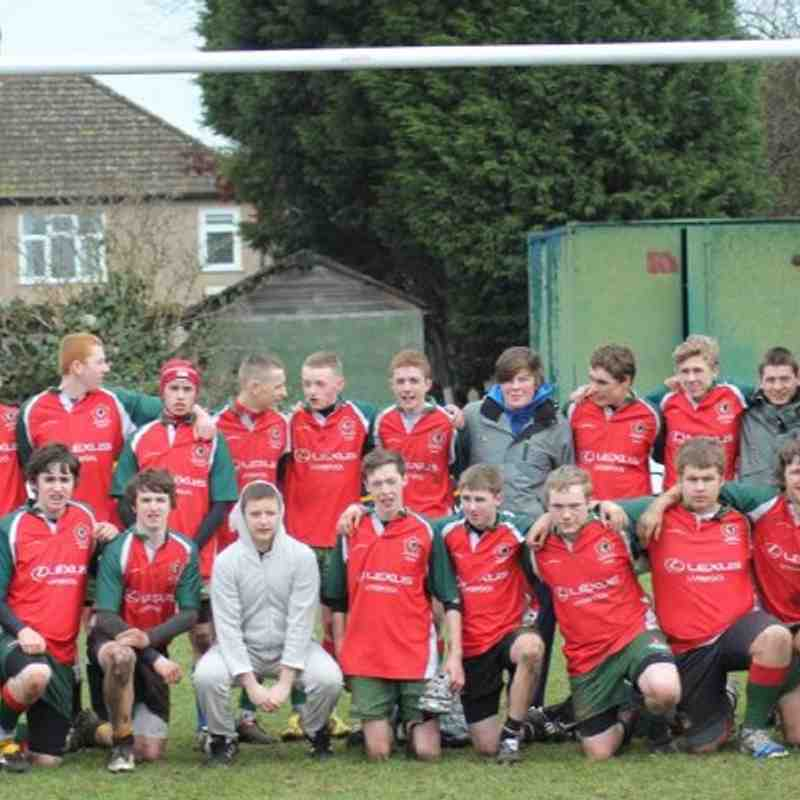 U16s London Tour Feb 2011