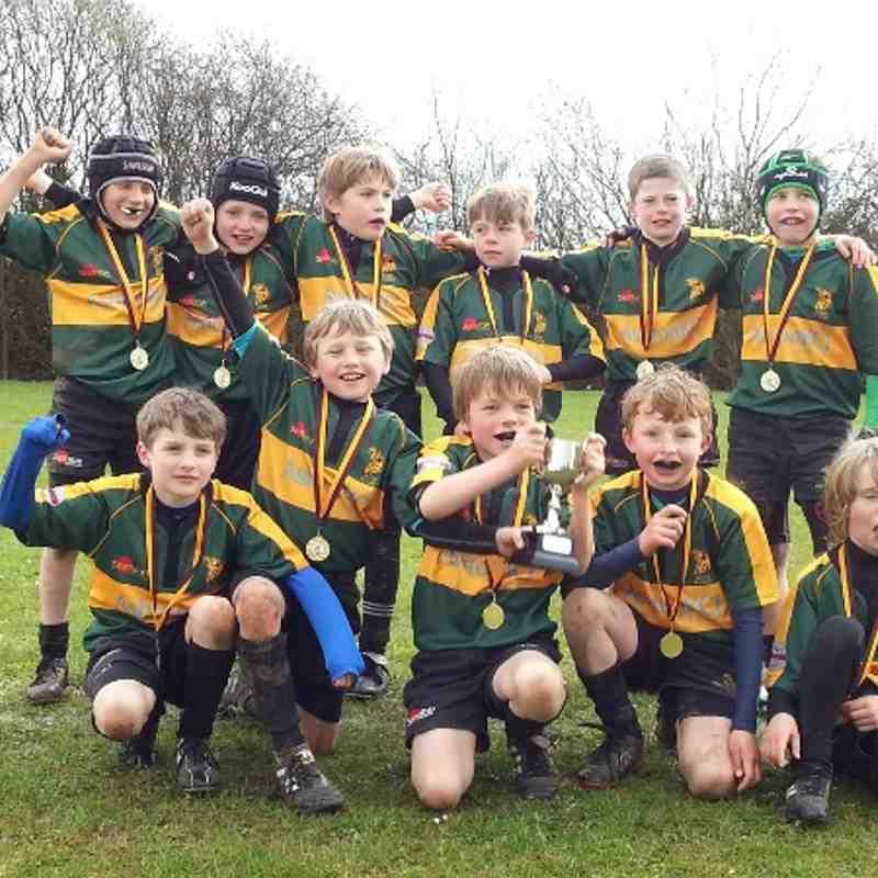 Westcliff U9 Cup Winners