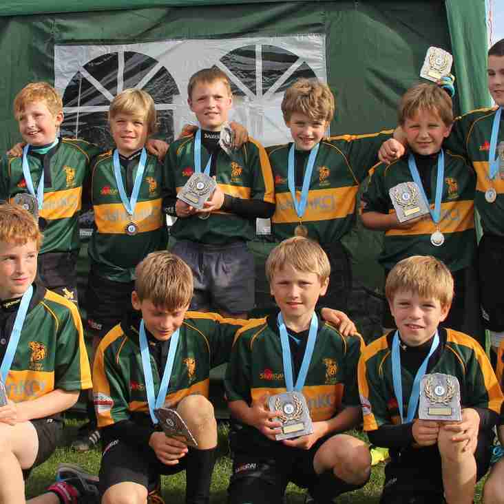 U10 win Plate at Bedford Blues Festival