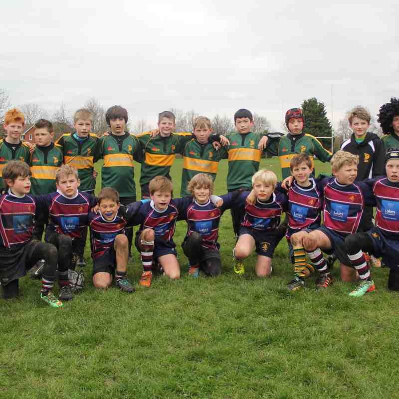 Bury U10's on Tour Apr 15