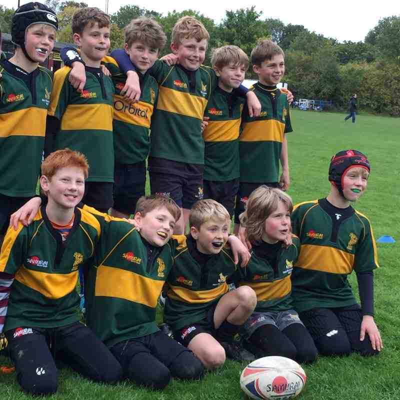 U11 Dragons at Landrover Cup Oct 15