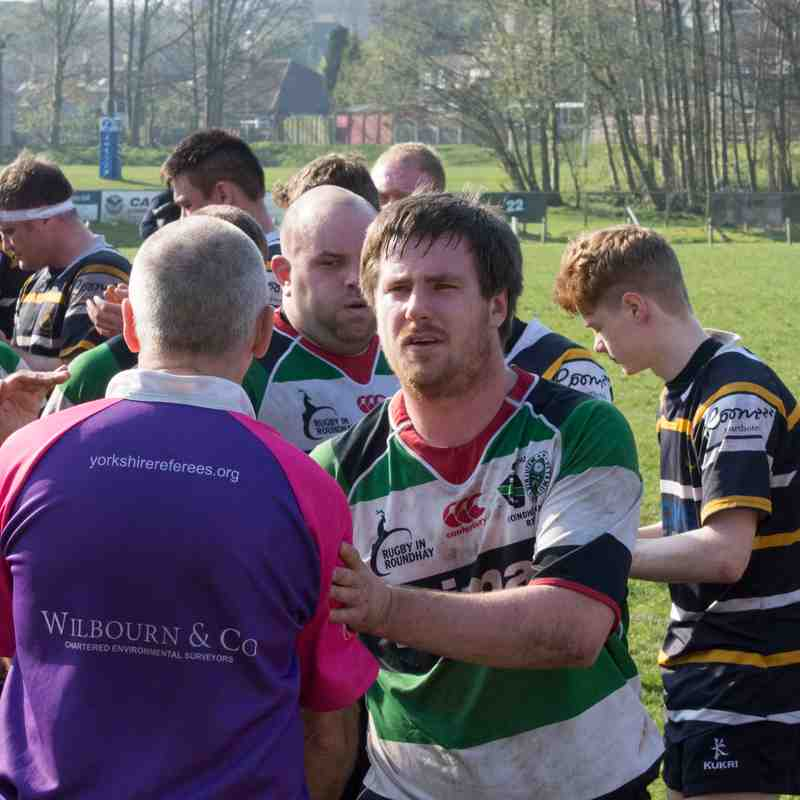 Roundhegians v Old Crossleyans 8th April  2017