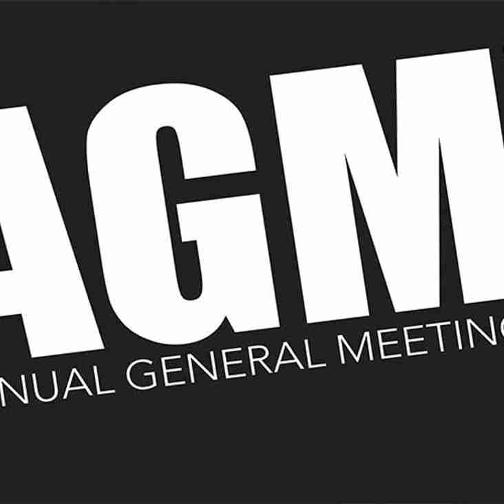 """AGM  """"Updated with Agenda"""""""