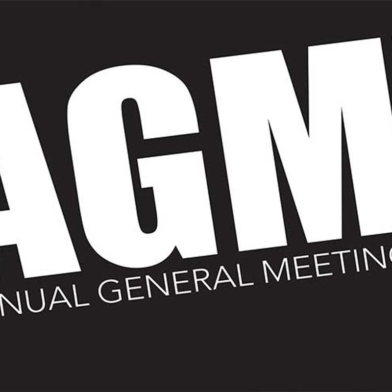 "AGM  ""Updated with Agenda"""