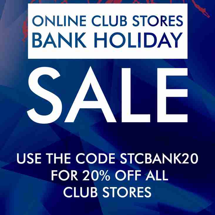 Bank holiday Sale Club Shop