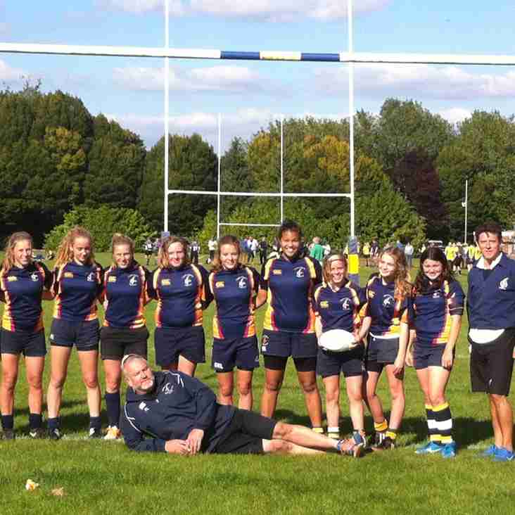 U15 Girls Triumph against Camberley and the Cold