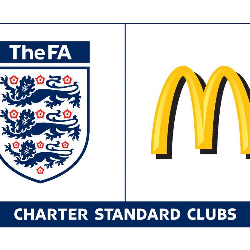 Redbridge become Charter Standard Club