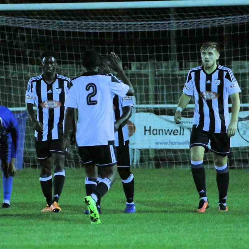 Hanwell Town v Redbridge-10/10/17 Photos by Philip Lindhurst