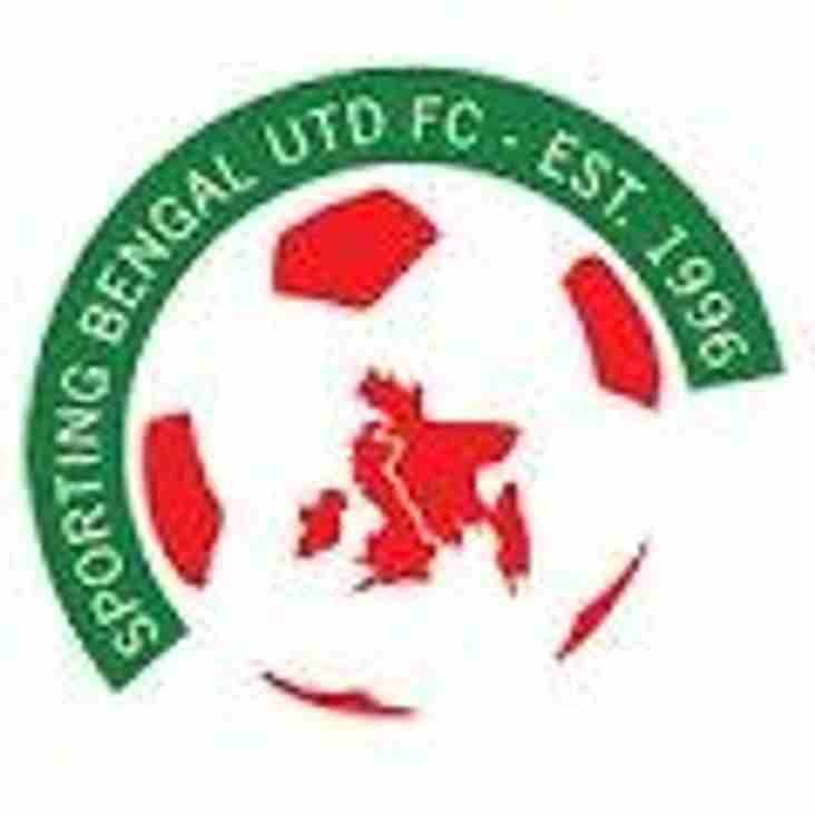 Sporting Bengal Utd v Redbridge/Sat 21st April