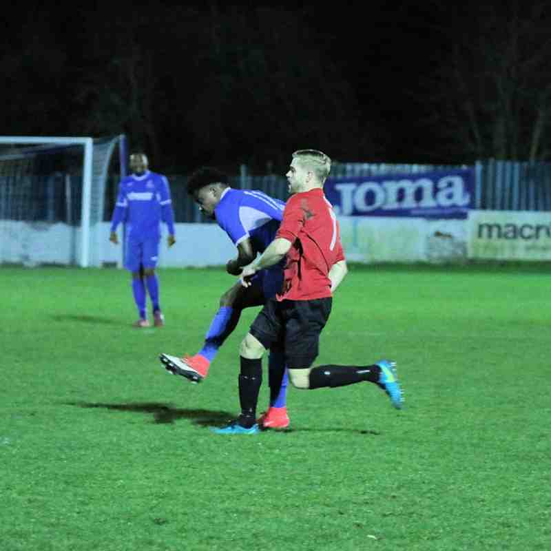 Redbridge F.C. v Stansted-30/01/18 by Philip Lindhurst