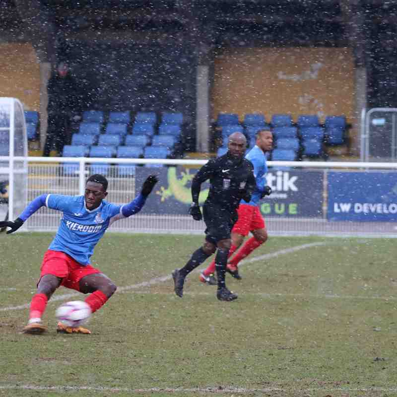 FC Romania v Redbridge F.C-17/03/18 by Philip Lindhurst