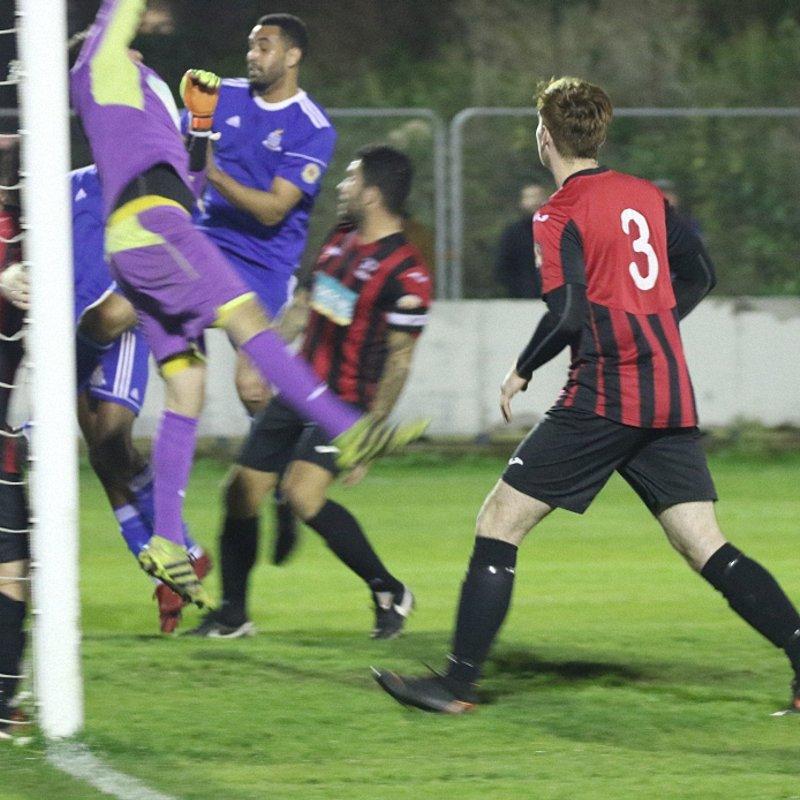 Redbridge Knocked out of Essex Senior Cup