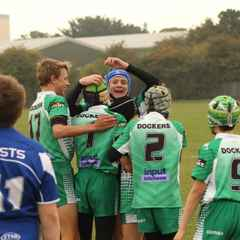 Battered and bruised under 13's take derby spoils