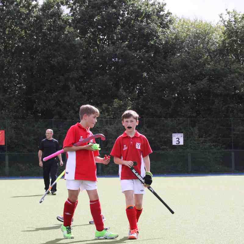 U12 Boys v Camberley & Farnborough - Sun 25 Sep 2016