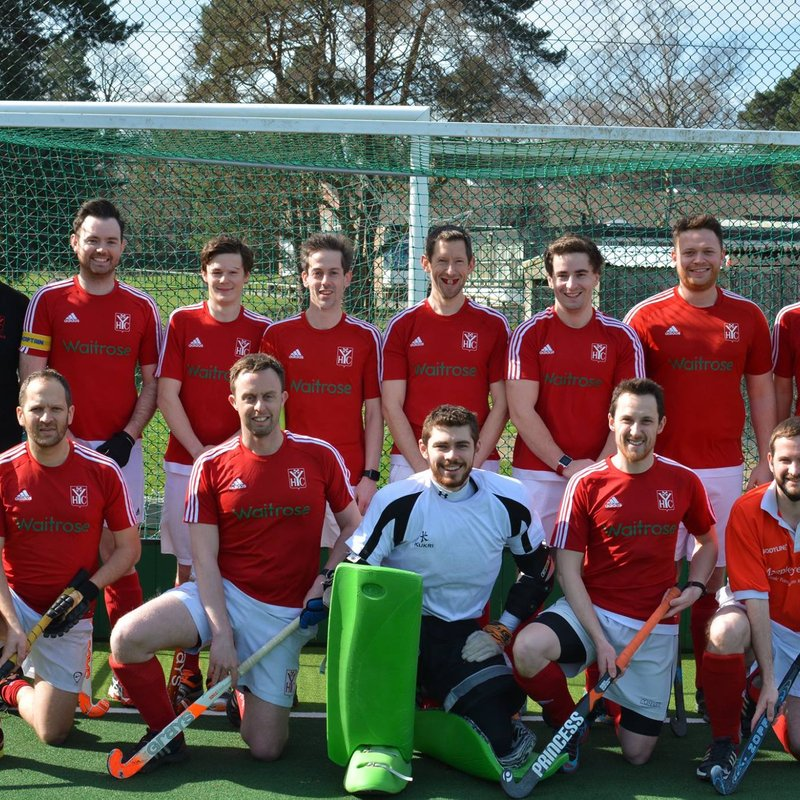 Mens 1st  lose to City of Portsmouth 1 2 - 4