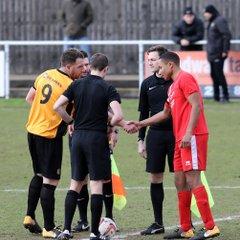 2018 01 27 Ambers 0-3 AFC Mansfield NCEL Prem