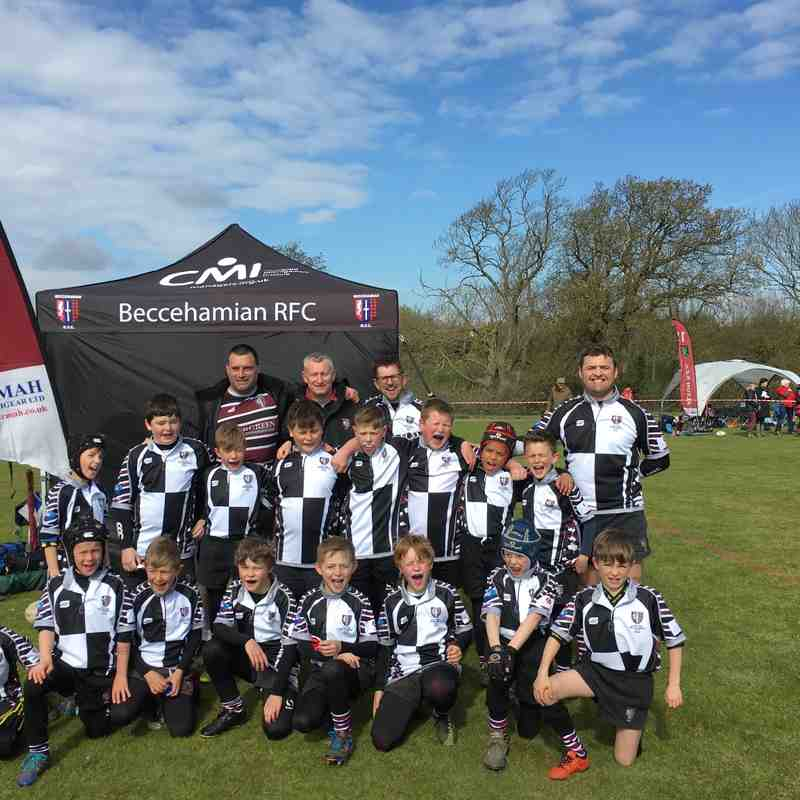 Beccs U10s at Vectis Festival (24 April 2016)