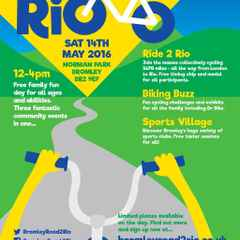 Beccs supporting & attending Bromley Road to Rio on Saturday 14th May 2016