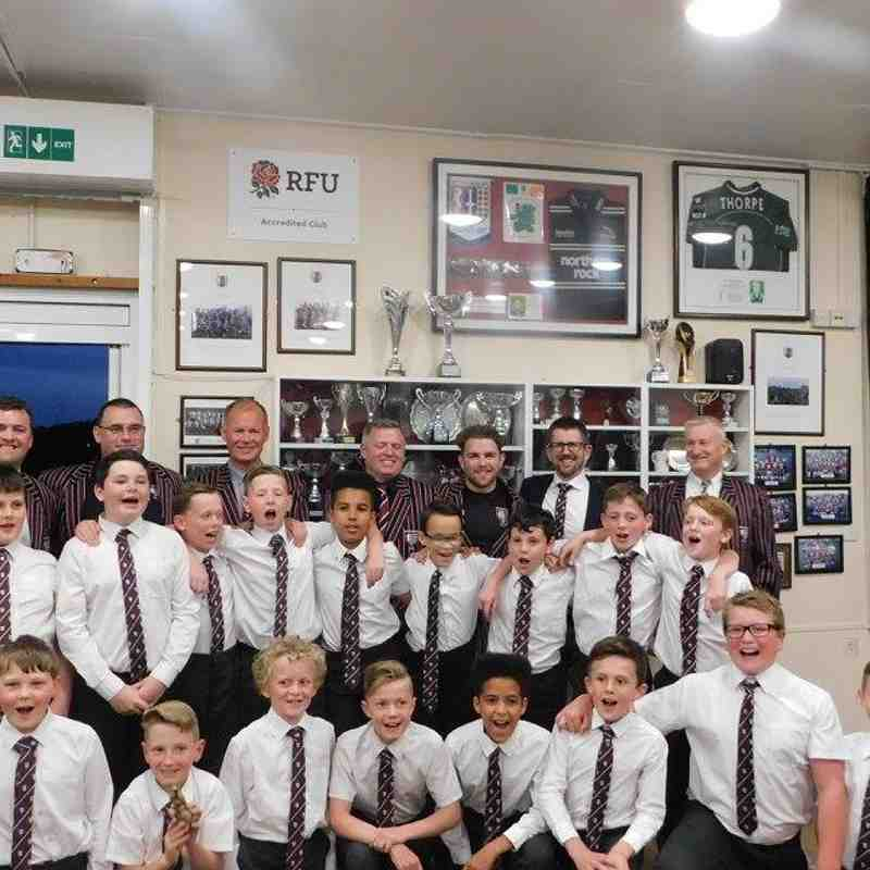 Beccs U11s Minis-Juniors Graduation Saturday 20 May 2017