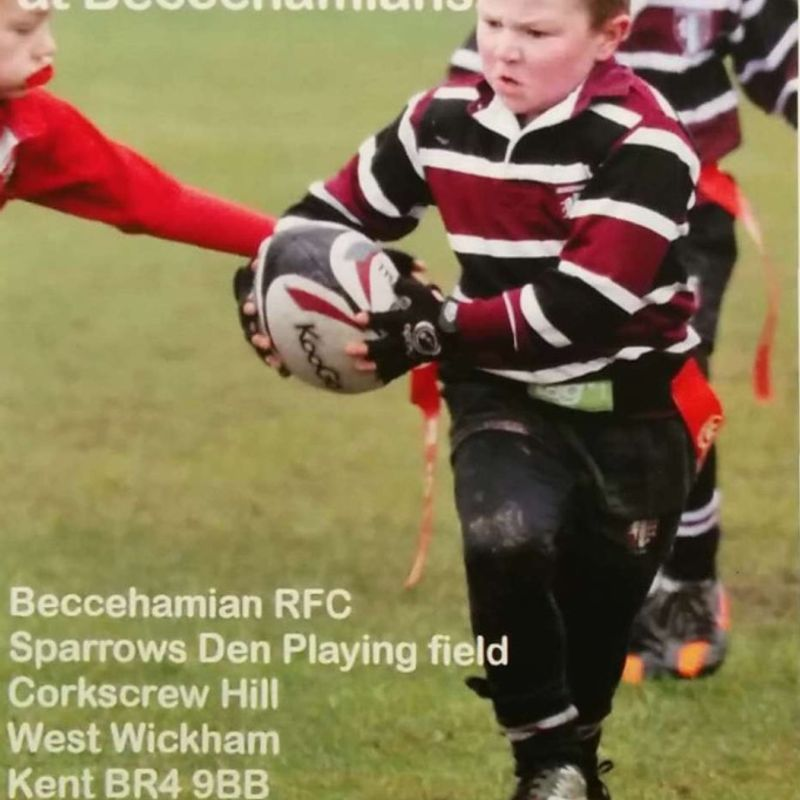Beccs Mini & Junior rugby starts Sunday 3 September 2017