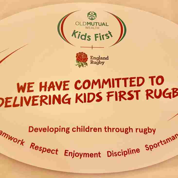 "Beccehamian RFC committed to Old Mutual Wealth ""Kids First"" Rugby"
