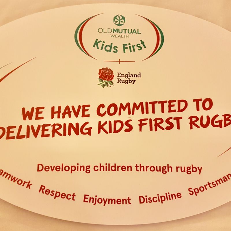 """Beccehamian RFC committed to Old Mutual Wealth """"Kids First"""" Rugby"""