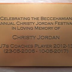 Christy Jordan Memorial Festival 11 March 2018