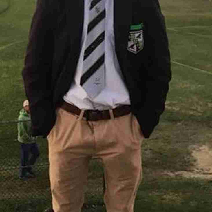 Scott Macaulay appointed 1st XV Rugby Captain at Ravens Wood School