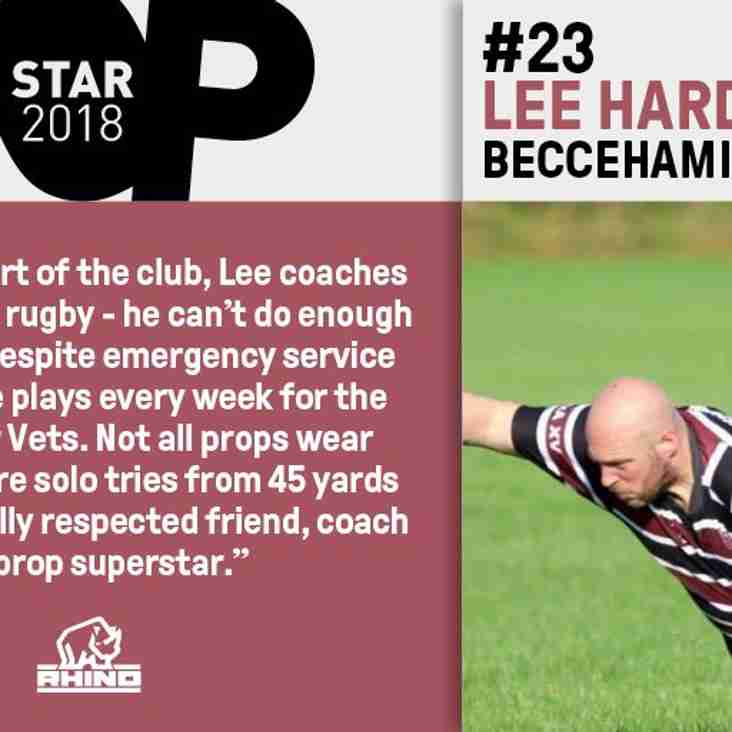 """""""PropStar"""" Lee Harding invited to The Varsity Match by Rhino Rugby"""
