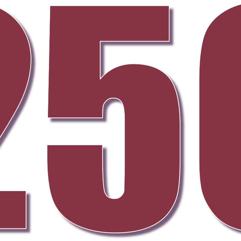 250 Club winners October to December 2018