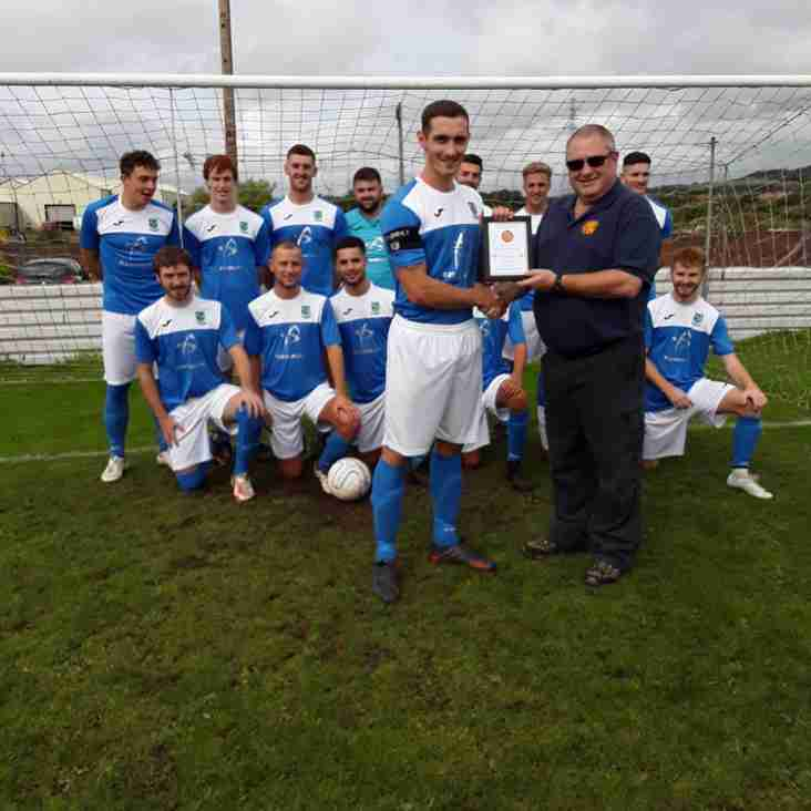 Team and Manager of the Month Award