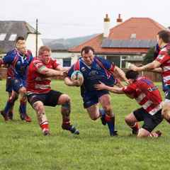"RUGBY THIS WEEKEND IN STRANRAER - ""Shire"" v Moffat ""Rams"""
