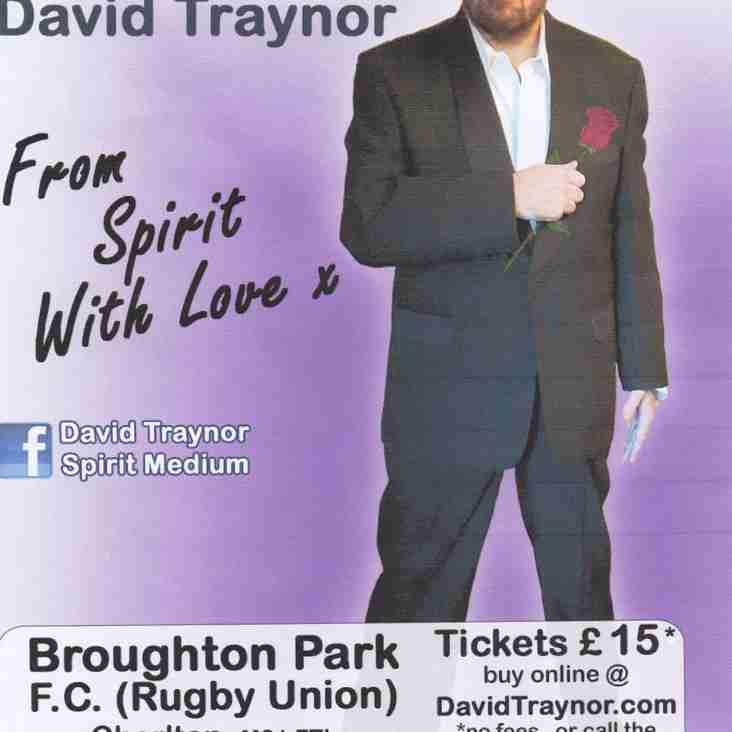 Psychic Evening at Broughton Park FC