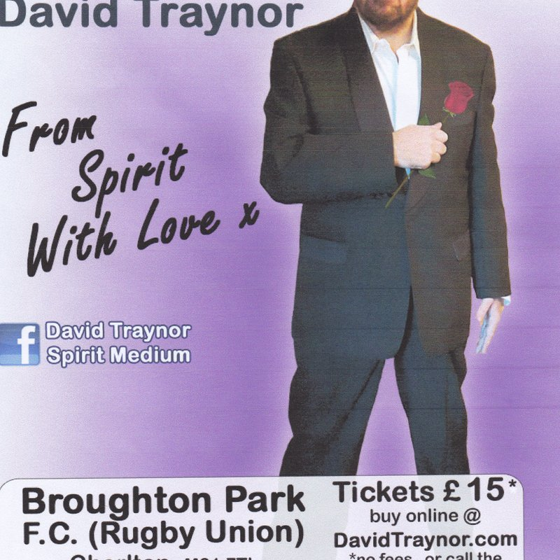 Psychic Evening at Broughton Park FC