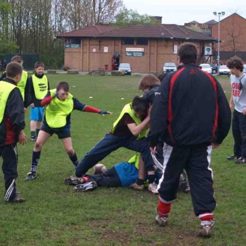U13's training 13/04/11
