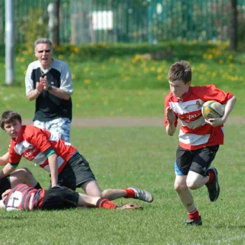 U13s vs Fleetwood & Twickenham 17/04/11